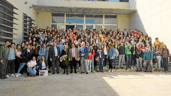 Los institutos 'La Arboleda' y 'San Sebastián' de Huelva, y 'Galilego Galilei' y 'Miguel Servet' de Sevilla, ganadores de la X Olimpiada de Geología de la UHU