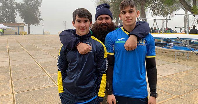 La sección de Piragüismo del Club Deportivo Náutico de Punta Umbría acude este sábado al Campeonato de España