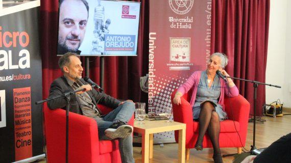 Antonio Orejudo inaugura las `Presencias Literarias´ de primavera en la UHU