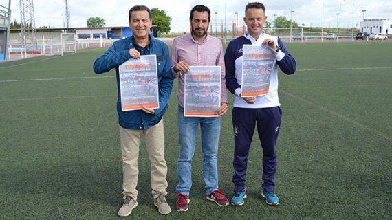 Un total de 17 equipos toman parte este sábado en San Juan del Puerto en el VIII Torneo de Fútbol 7