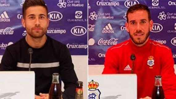 """Los jugadores del Recre asumen que el respaldo de más de 1.500 aficionados en Sevilla """"es un privilegio"""" que """"obliga a darlo todo para ganar"""""""
