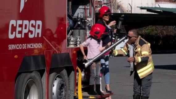 Balance positivo al finalizar las `Jornadas de Puertas Abiertas' de Cepsa en Huelva