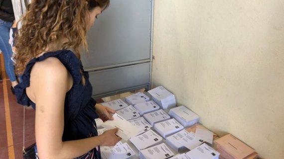 Más de la mitad de los onubenses ya han votado este 28-A a las 18.00 horas