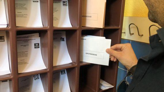 Todo preparado en la provincia de Huelva para la jornada electoral del 10 de noviembre