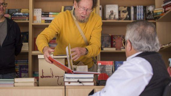 Juan Carlos Lara lleva 'El balcón de las golondrinas' de Bécquer a la Feria del Libro