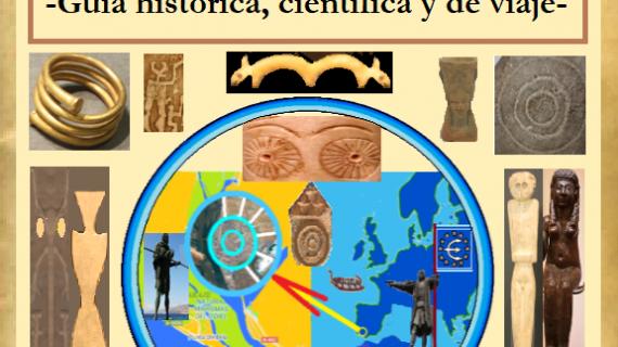 El investigador onubense F. F. Díaz presenta en la Feria del Libro pruebas visuales de la existencia de La Atlántida y Tartessos en Huelva