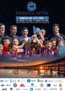 Cartel anunciador de la 'Huelva Capital Gañafote Cup' 2019, que comienza este sábado en Moguer y Rociana.