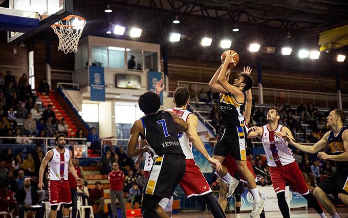 Onubenses y jiennenses fueron protagonistas de un buen encuentro de baloncesto.