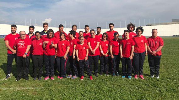 El CODA desplaza a 19 atletas a Granada para el XXIII Campeonato de Andalucía de Atletismo FANDDI