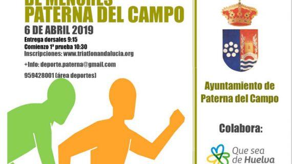 Paterna del Campo vivirá este próximo sábado un atractivo Duatlón Cros de Menores