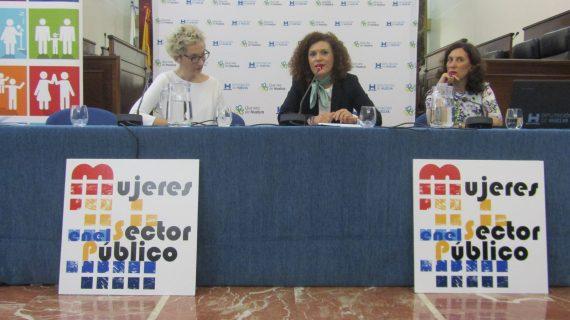 Diputación visibiliza el trabajo de las empleadas públicas en un encuentro en el que se presenta la primera asociación que las aglutina