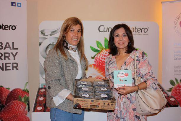 Frutos rojos de Cuna de Platero, en el 16º Congreso de la Sociedad Andaluza de Farmacéuticos de Hospitales