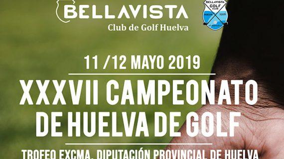El Club Bellavista acogerá los días 11 y 12 de mayo el XXXVII Campeonato de Huelva de Golf