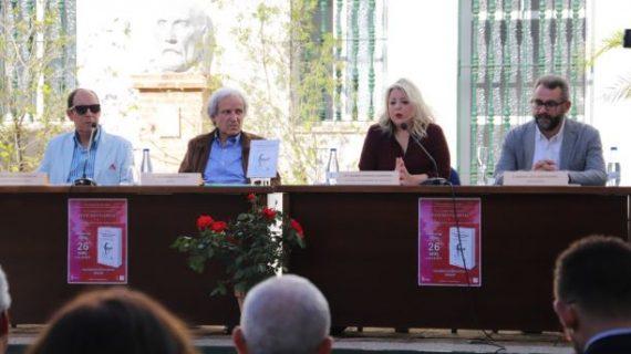 El poeta moguereño Francisco Garfias recibió un emotivo homenaje en la presentación de un libro sobre su figura