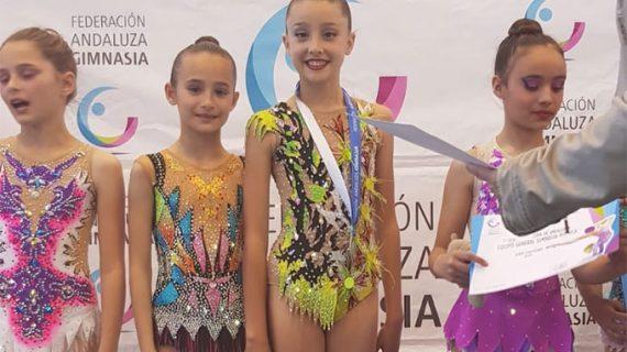 Buena actuación del Rítmico Colombino en la primera fase de la Copa de Andalucía en Ayamonte