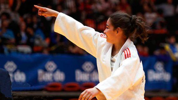 La almonteña Paula Pérez se proclama campeona de España de Judo en la categoría Infantil
