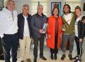 Recepción en el Ayuntamiento de Punta Umbría a la Asociación Atlética Moratalaz y al subcampeón de Europa, Fernando Carro