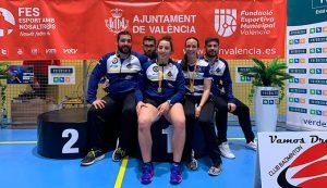 Los representantes del Recre IES La Orden en el torneo de Valencia.