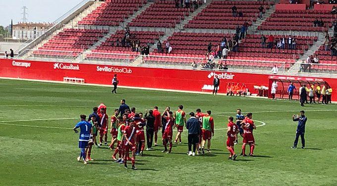 El Recreativo da otro alegrón a su gente con una remontada épica ante el Sevilla Atlético (1-2)