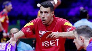 El onubense Álvaro Robles, primer español que se va a colgar una medalla en un Mundial Absoluto de tenis de mesa. / Foto: http://www.rfetm.es.