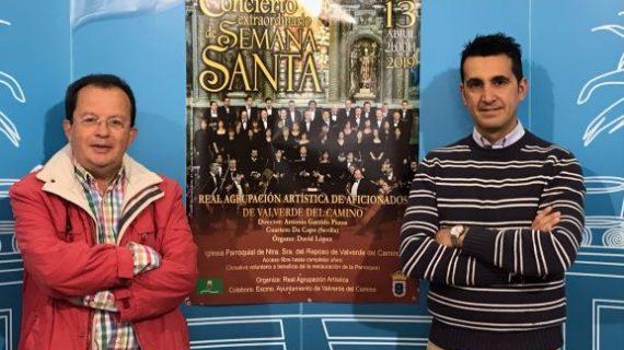 La Coral de Valverde del Camino ofrece un concierto de música sacra en la Iglesia de Ntra. Sra. del Reposo
