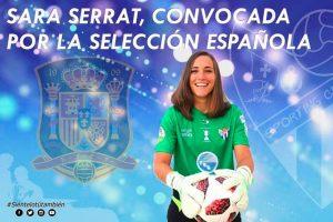 Sara Serrat acude de nuevo a la convocatoria de la selección española.