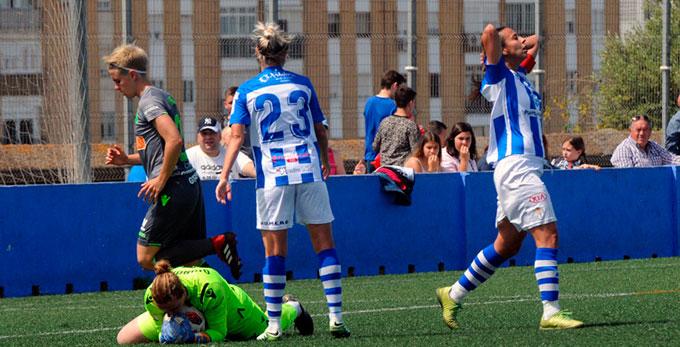 El Sporting Puerto de Huelva empata sin goles con la Real Sociedad y se jugará la permanencia el domingo ante el Espanyol