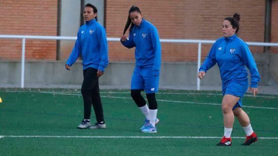 El Sporting Puerto de Huelva comenzó a preparar su partido del domingo ante el Atlético de Madrid