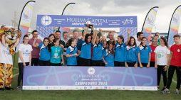 Alhaurín de la Torre y Sporting de Huelva, vencedores en la categoría Alevín y Femenina de la III Huelva Capital Gañafote Cup