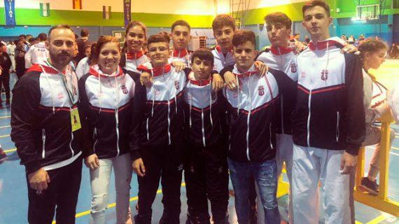 El TSV Huelva conquistó seis medallas de oro y otra de bronce en el Campeonato de Andalucía Infantil y Cadete de Judo