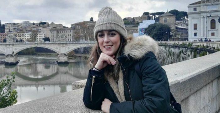 Carmen Pereles, una cartayera que decidió mudarse a Italia para salir de su zona de confort