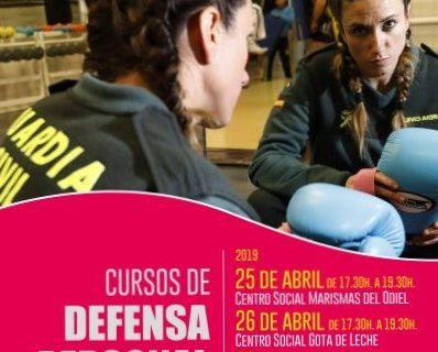 Abierto el plazo de inscripción para asistir a los cursos de Defensa Personal para Mujeres