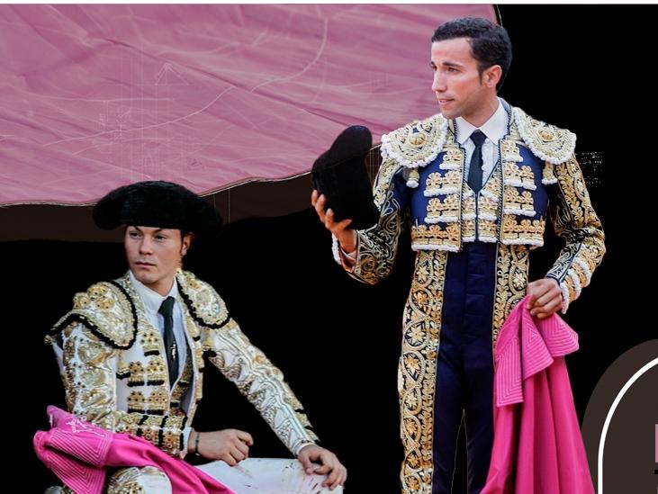 Manolo Vanegas y David de Miranda este lunes en Huelva, en 'Toreros, el milagro de la vida'