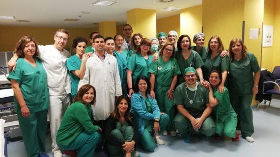 El Hospital Infanta Elena registra su primera donación en asistolía y salva o mejora la vida de 5 personas