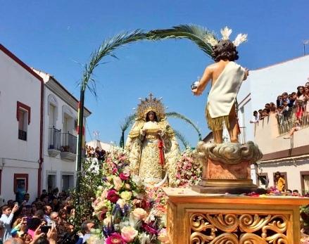 La Redondela culmina la Semana Santa con la tradicional Fiesta del Huerto