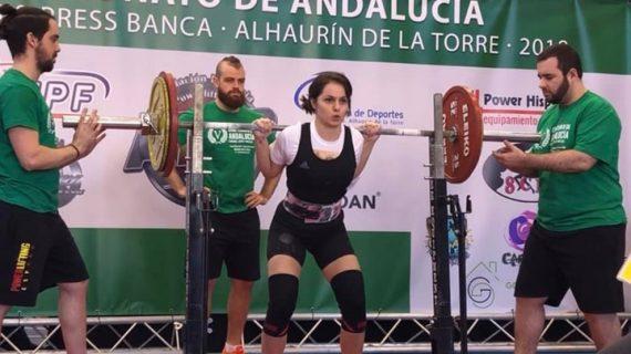 Irene Stabile Lacasta, una deportista onubense en el mundial de Powerlifting