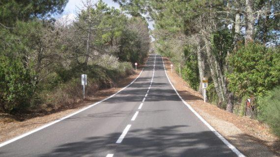 Las carreteras de la Sierra de Huelva experimentan un importante proceso de mejora