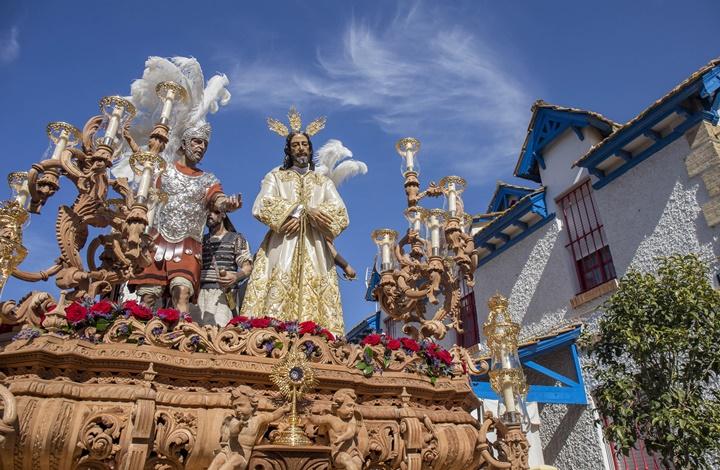 Miércoles Santo, uno de los días más esperados con la salida de Victoria, Esperanza, Prendimiento y Santa Cruz