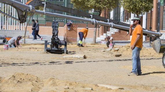 Mejoras en las áreas infantiles del Parque José Carrasco y Verdeluz