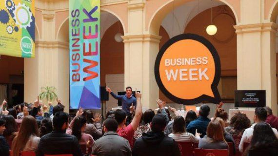 Inaugurada la `Business Week 2019´, iniciativa por la empleabilidad y el emprendimiento de los estudiantes de la UHU