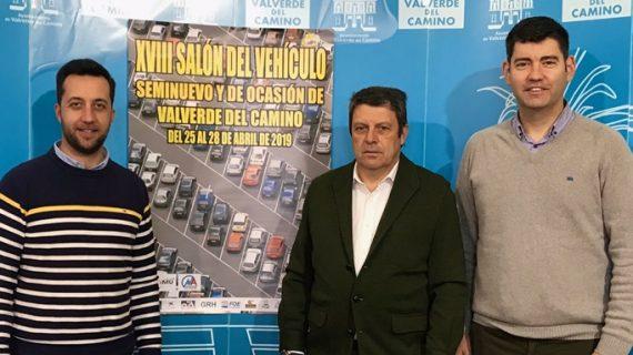 El Salón del Vehículo Seminuevo y de Ocasión de Valverde contará con una exposición de 250 modelos