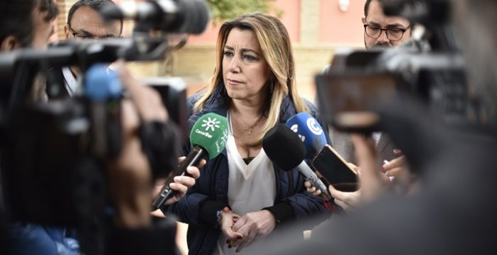 Susana Díaz celebra los 40 años de Gobiernos democráticos en La Palma del Condado