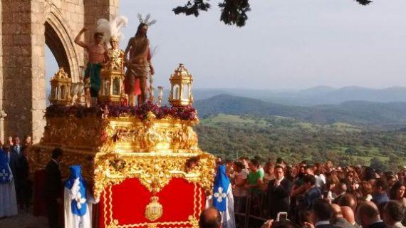 Aracena realiza un importante despliegue de recursos y servicios para engrandecer su Semana Santa