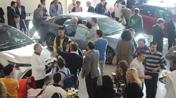 Toyota presenta en Huelva sus últimos vehículos híbridos, un paso más hacia las cero emisiones