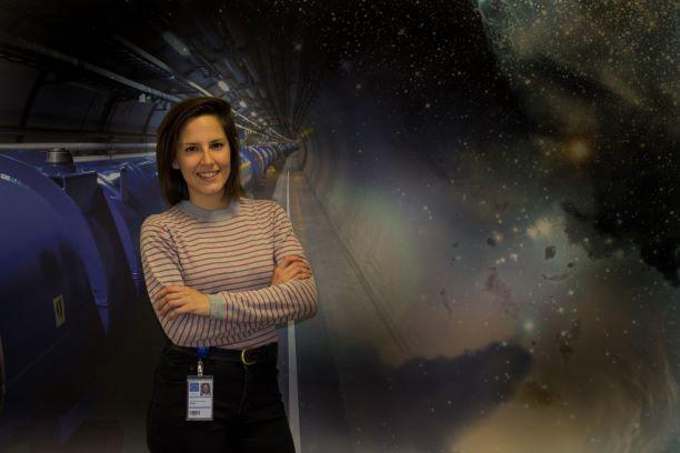 La onubense Elena Fernández Mora, una de las ingenieras españolas elegidas para trabajar en el CERN en Suiza