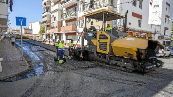 Las obras del cuarto Plan de Asfaltado avanzarán esta semana en más de 20 calles de la capital