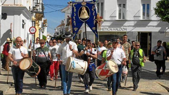 Los internos de la Prisión de Huelva ya peregrinan al Rocío