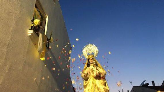 La Virgen de Piedras Albas ya se encuentra en El Almendro