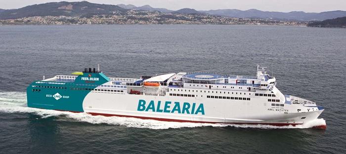 Cambios en el buque y los horarios de la ruta que une Huelva y Canarias