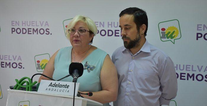 Adelante Huelva afirma que llevará la voz de la izquierda desde la oposición en la legislatura
